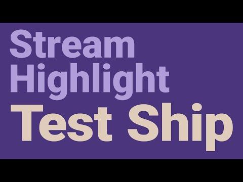 Stream Highlight: Test Ship | Test Conqueror Play 1 (0.8.2 Version | Work In Progress)