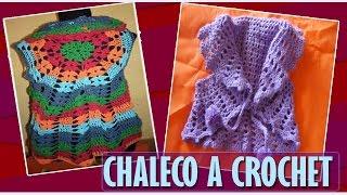 Chaleco o Bolero - Tejidos a Crochet