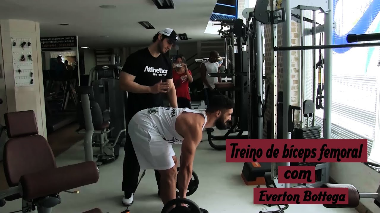 Treino de Bíceps Femural com Everton Bottega - FIKAGRANDEPORRA