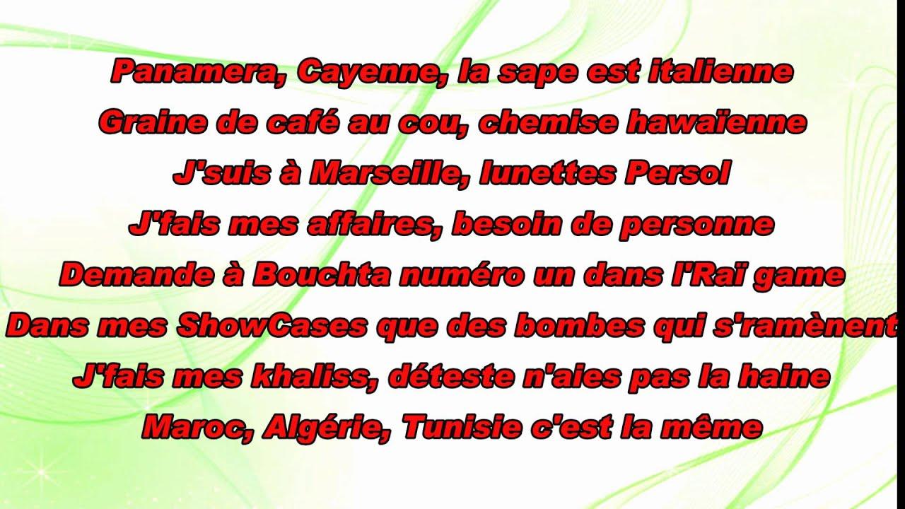 L algerino Le prince de la ville paroles lyrics - YouTube 13d36a907d8