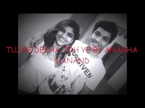 Tujhe Dekha To Ye Jaana Sanam | Lyrics | Dilwale Dulhania Le Jayenge | Cover | Anagha & Anand