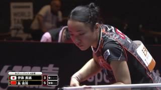 女子シングルス4回戦 伊藤美誠 vs 朱 雨玲 第4ゲーム