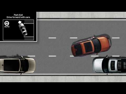All-New Land Rover Discovery 17MY - InControl Touch Pro: Park Assist