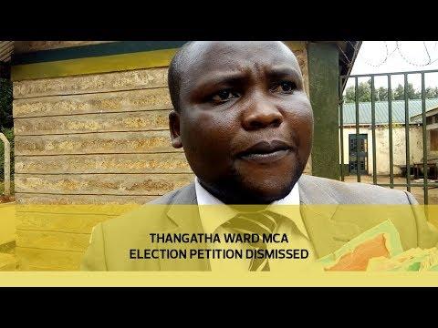 Thangatha ward MCA election petition dismissed