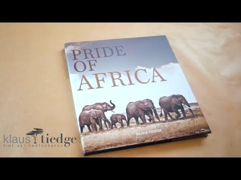 "Coffee Table Book ""Pride of Africa"" by Klaus Tiedge - wildlife fine art photographer"