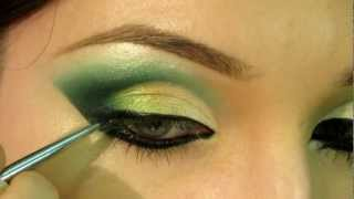 Arabic Makeup Tutorial 1 /// Арабский макияж 1 (ENG SUBs)