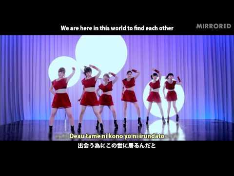 S/mileage『地球は今日も愛を育む』(Dance Shot ver.)(Mirrored)(Slow 70%)