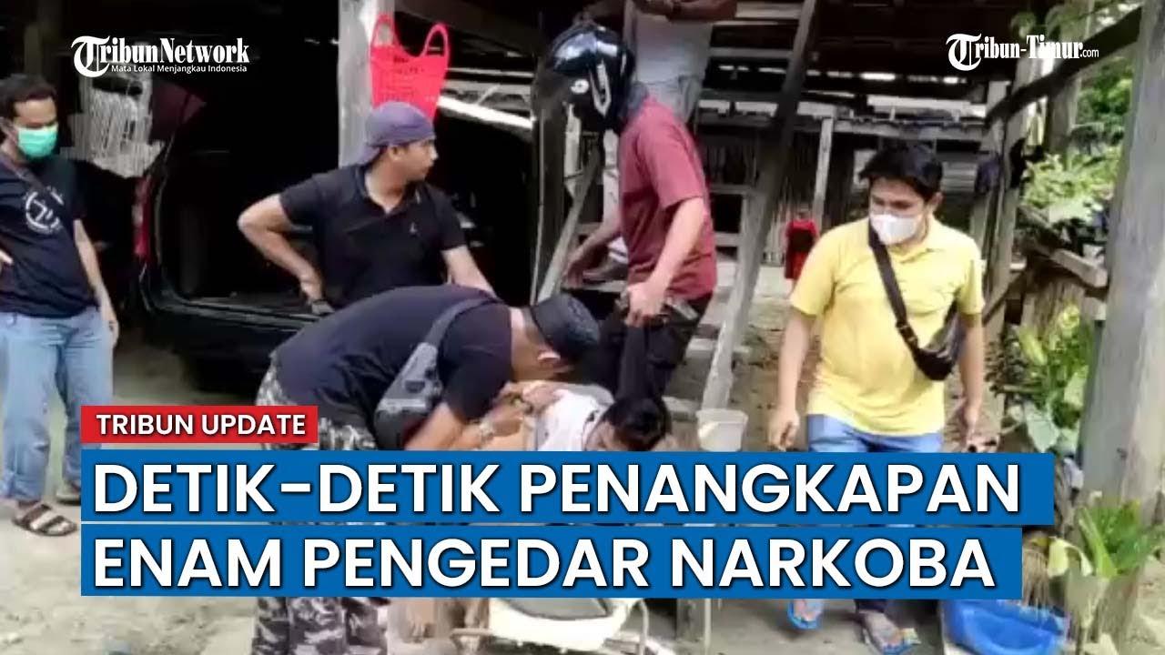 Download Bongkar Peredaran Narkoba di Pammana Wajo, Polisi Tangkap 6 Orang