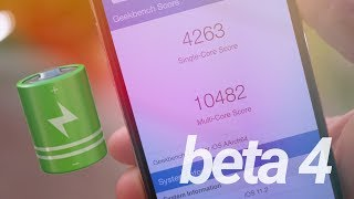 iOS 11.2 Beta 4: Amazing Battery Life & Performance!