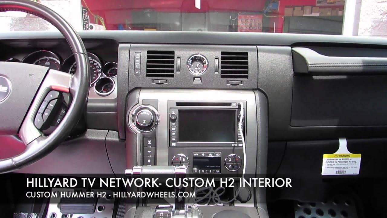 HILLYARD CUSTOM RIM&TIRE 2008 HUMMER H2 INTERIOR COMPLETE ...