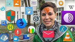 Die besten 30 Apps aus F-Droid - ohne Google & Tracking! VLC-Player, Wikipedia und Co. (Android)