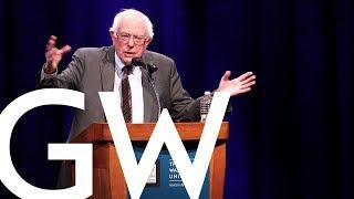 Bernie Sanders Returns to GW