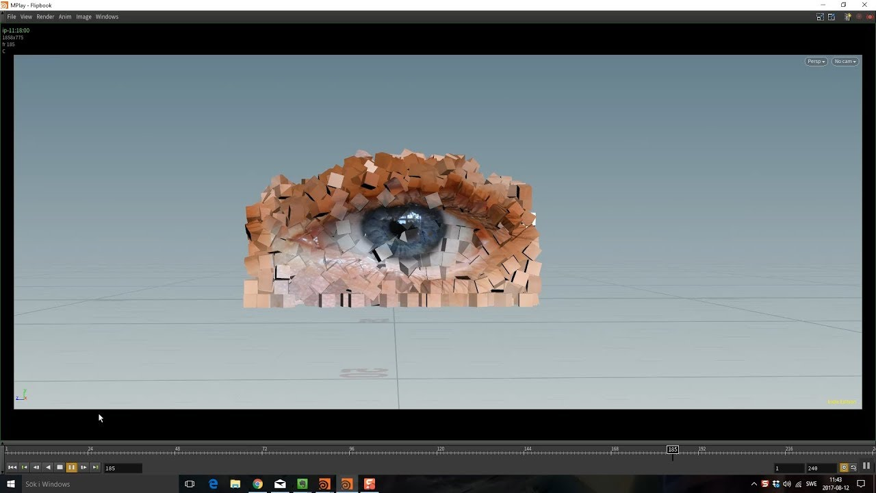 Stick Textures to Simulated Objects in Houdini