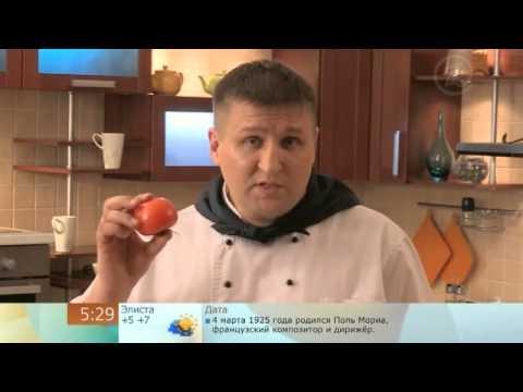 Цветок из яйца для салата