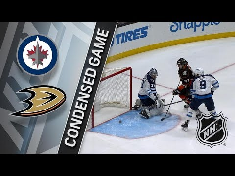 Winnipeg Jets vs Anaheim Ducks – Jan. 25, 2018 | Game Highlights | NHL 2017/18. Обзор матча