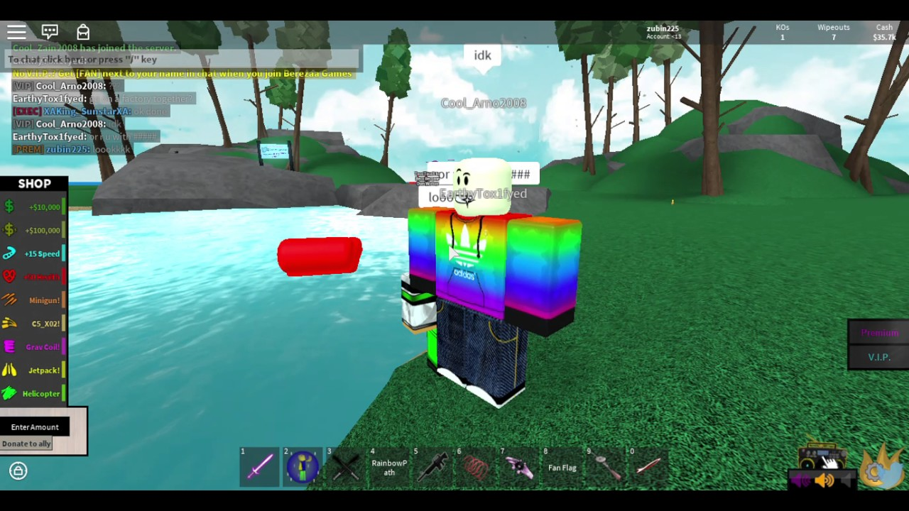 2Pgft i got on the island yes   roblox 2pgft backup - youtube