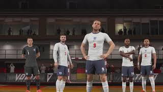Англия Италия Финал Евро 2020 Мини Футбол версия Fifa 2021