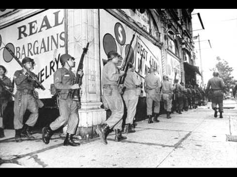Riots - LA Watts, Detroit, Newark