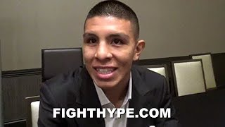 "JAIME MUNGUIA TELLS CANELO HE ""DEFINITELY"" WANTS A SHOT; BREAKS DOWN CANELO VS. GOLOVKIN 2"