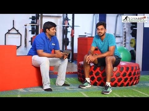 22 Yards I Cricketer Vijay Shankar's road to Glory and his success Mantra - Twelfth Man
