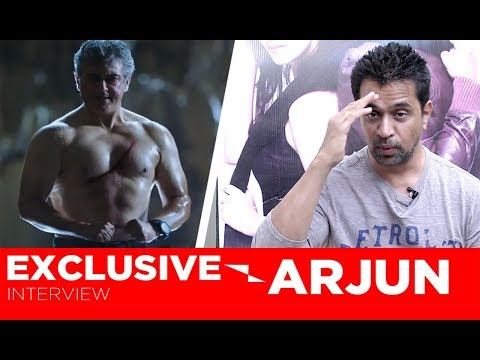 Thala Ajith is The Example of Hard Work | An Interview With Actor Arjun