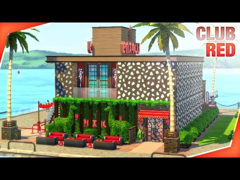 CLUB RED The Sims 4 | Speed Build ? thumbnail