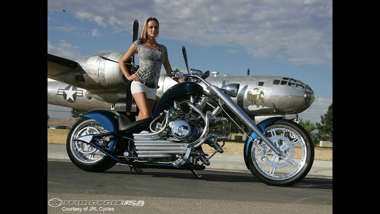 Custom Motorcycle Chopper Hot Bikes Girls Slideshow