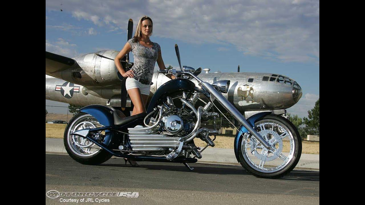 Custom Motorcycle Chopper Hot Bikes Girls Slideshow