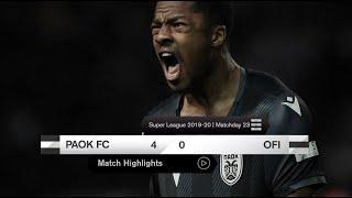 Τα στιγμιότυπα του ΠΑΟΚ-ΟΦΗ - PAOK TV