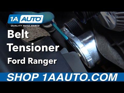 How to Replace Belt Tensioner 01-11 Ford Ranger V6 4.0L