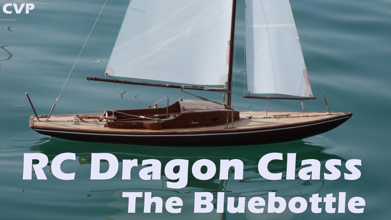 Cvp Rc Dragon Sailing Class The Quot Bluebottle Quot Youtube