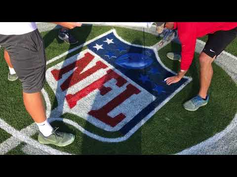 NFL Field Painting