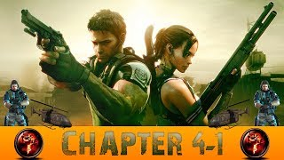 Resident Evil 5 Chapter 4-1 Caves Gameplay Walkthrough [PC]