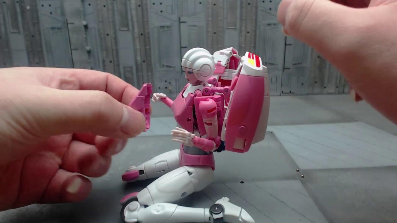 Transformer toys Chest Upgrade kit addon 4 Fans Toys FansToys FT-24 Rouge Arcee