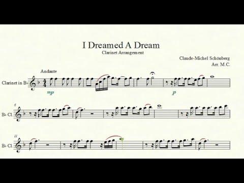 Les Misérables- I Dreamed A Dream [Clarinet Arrangement]