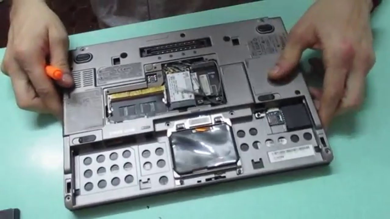 Inside Dell Latitude D430 How To Disassembly Guide Remove Ram Hdd Youtube