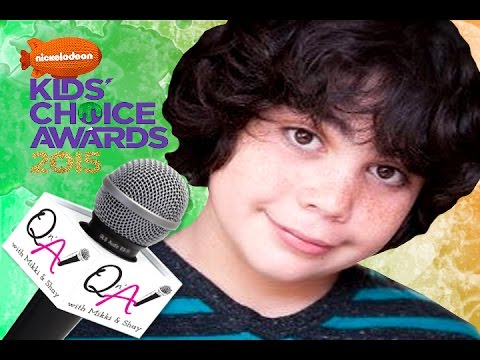 "CYRUS ARNOLD DISNEY'S ""SAM &CAT"" Kids Choice Awards Gift Suite 2015"