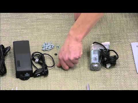 JG Metall mounting instruction 1-Motor Frame
