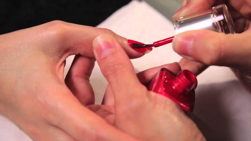 Leighton Denny Expert Nails Perfect Polish Application - YouTube