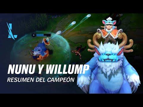 Resumen del campeón: Nunu y Willump   Experiencia de juego - League of Legends: Wild Rift