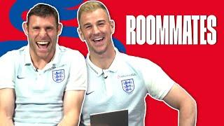 Does James Milner know Joe Hart's real name? - Joe Hart v James Milner | Roommates