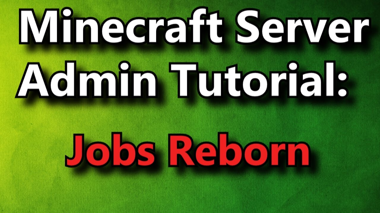Jobs Reborn | SpigotMC - High Performance Minecraft