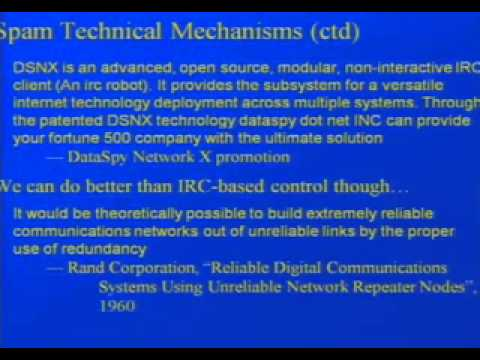 DEF CON 15 - Peter Gutmann - Commercial Malware Industry