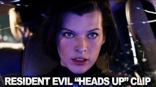 Resident Evil: Retribution 3D Clip - Heads Up