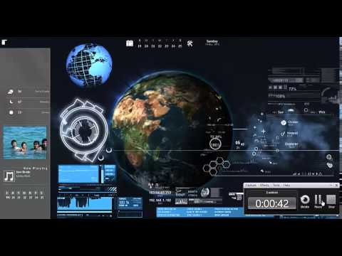 Desktop Theme - Rainmeter