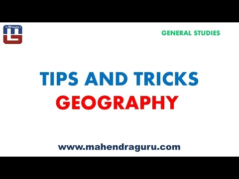 TIPS TO CRACK GEORGRAPHY IN GENERAL STUDIES