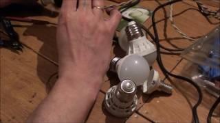 Ремонт светодиодных ламп(Подписаться на канал https://www.youtube.com/channel/UCwDXJzLhgdvbkN8ZAVghJdQ Видео о китайских светодиодных лампах ..., 2016-05-22T19:29:19.000Z)
