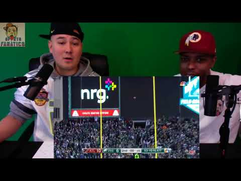 Falcons vs Eagles   Reaction   NFL Divisional Game Highlights