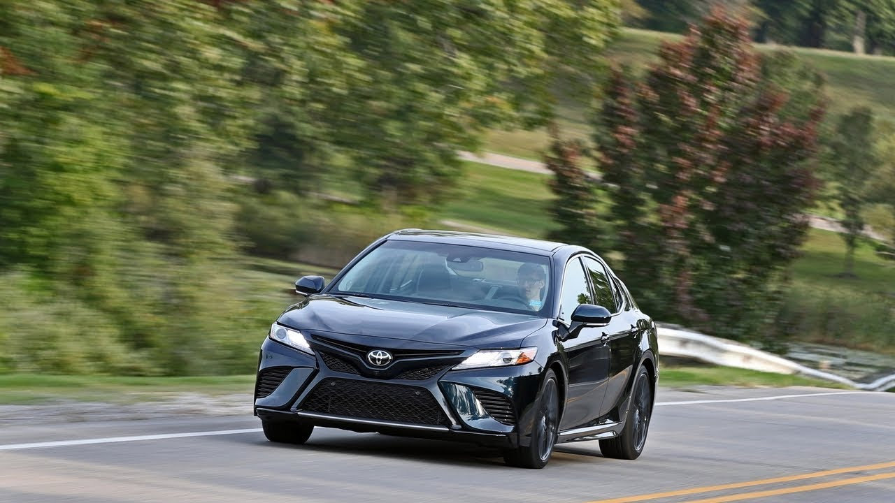2018 Toyota Camry Xse V6 Top Sd