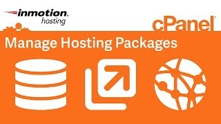 Manage hosting packages in WHM